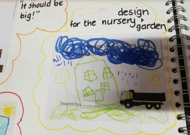 A child's design of the nursery, it should be big