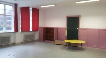 Murrayburn Primary School playroom before refurbishment