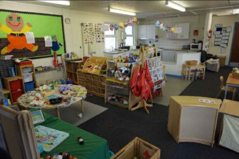 Royal High Primary School Nursery before refurbishment 1