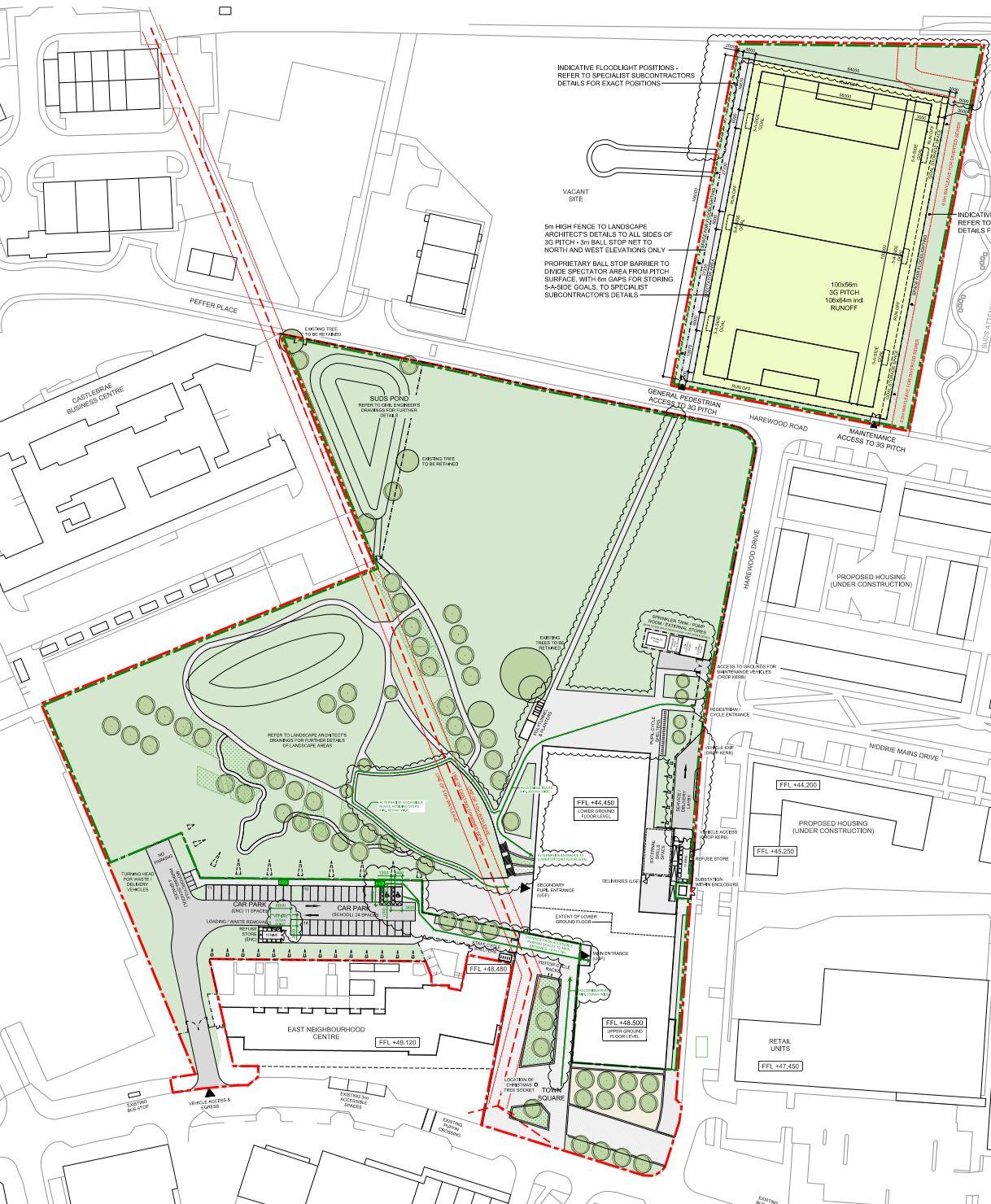 the final landscape plan
